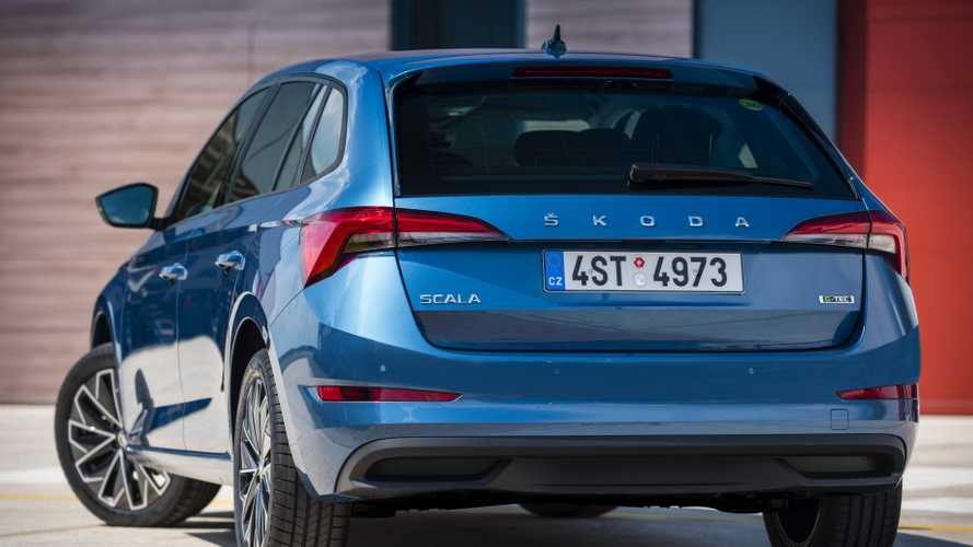 Skoda Scala G-TEC Unveiled With Frugal Natural Gas Engine