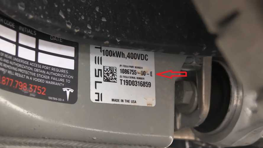 Tesla Model S Raven battery pack (Source: Bjørn Nyland)