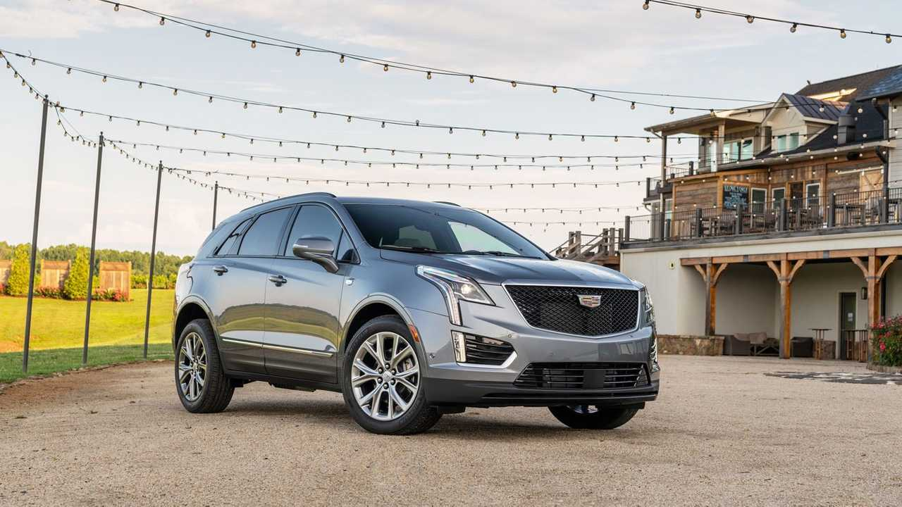 Обновленный Cadillac XT5 2020 модельного года