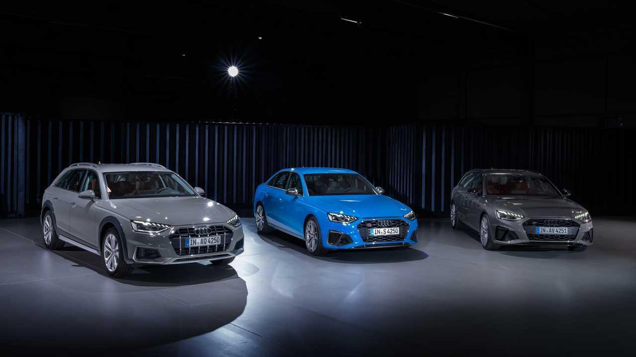 2020 Audi A4 Lineup