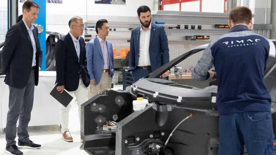 Hyundai et Kia investissent dans Rimac
