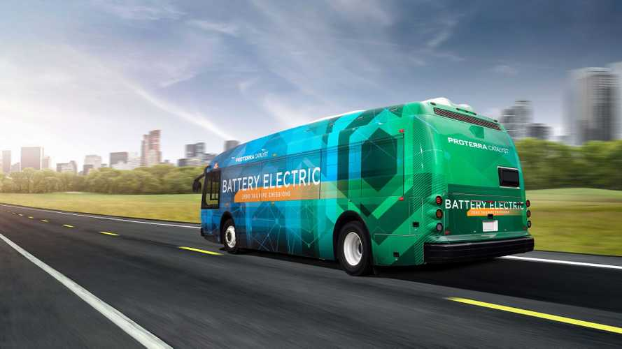 Proterra Catalyst electric bus (35')