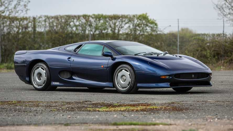 Not one, but two Jaguar XJ220 supercars up for grabs
