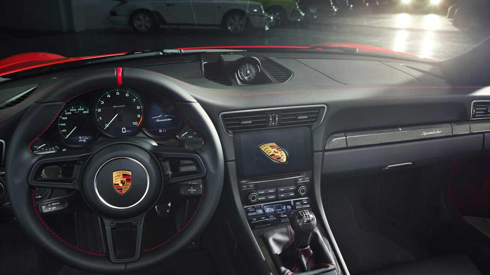 Porsche представил 502-сильный 911 Speedster