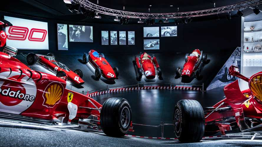 Ferrari 90 Years Exhibition