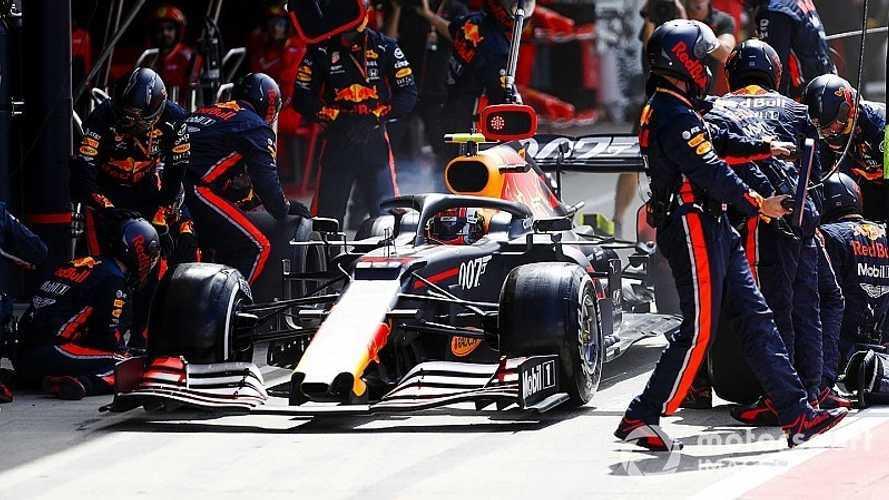 Red Bull batió el récord del pitstop más rápido: ¡1,91 segundos!