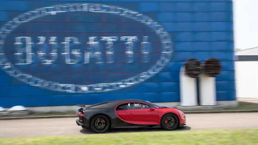 La fabbrica Bugatti di Campogalliano