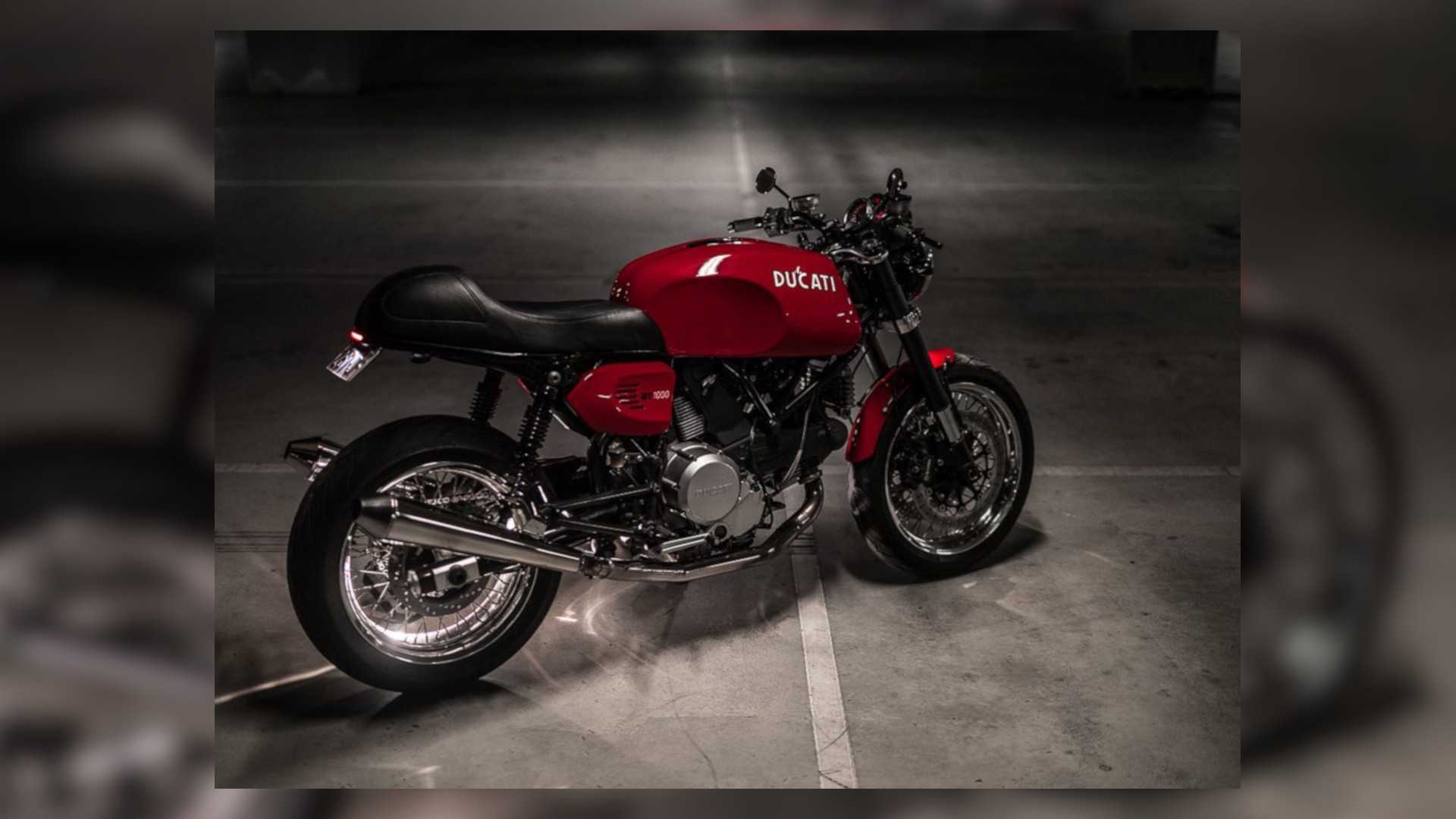 This Ducati Cafe Racer GT1000 Custom Is Sex On Wheels