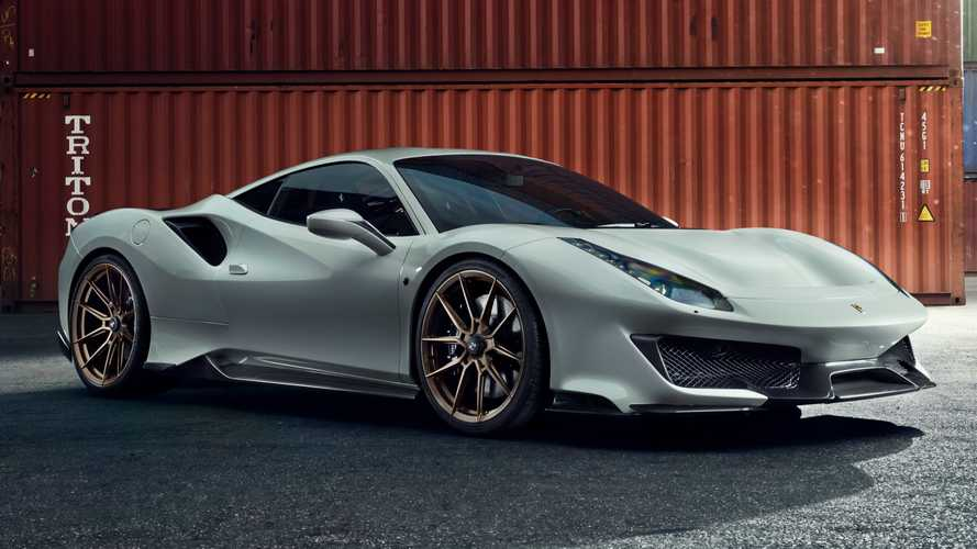 Ferrari 488 Pista masterfully tuned by Novitec to nearly 800 bhp