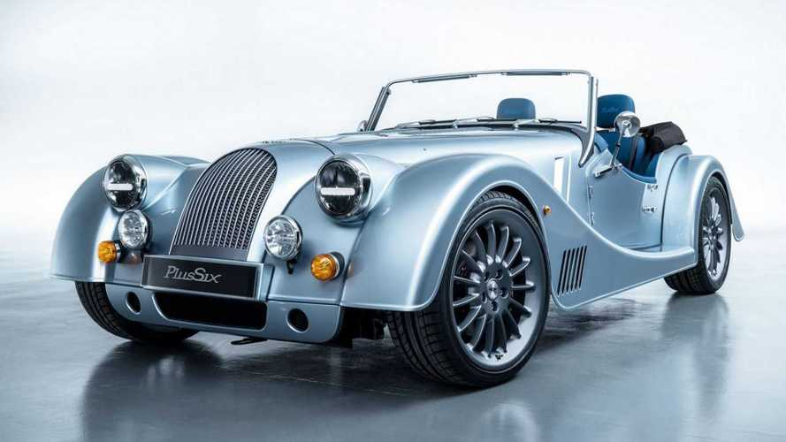 El Morgan Plus Six rueda en Goodwood 2019