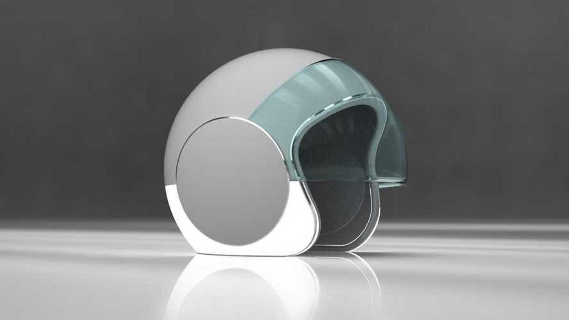 New Motorcycle Helmet Design Illuminates Its Shell