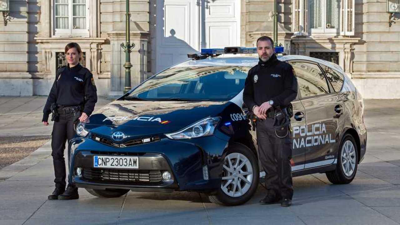 Los Toyota Prius+ de la Policía Nacional