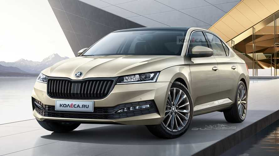 2020 Skoda Octavia rendered based on latest spy shots