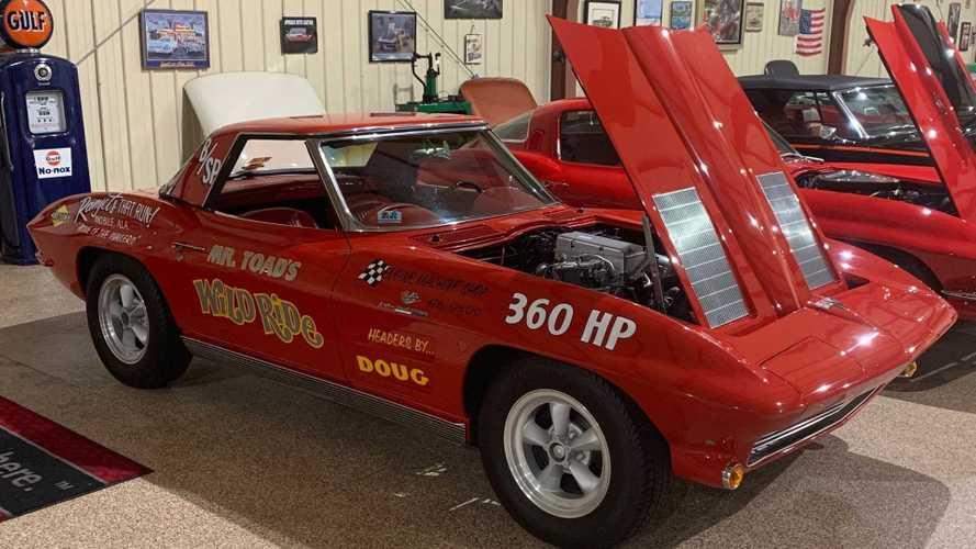 Take Flight In This 1963 Corvette Pilot Car