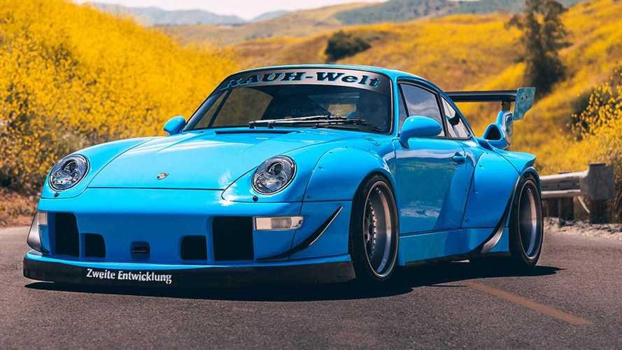 Así es este impresionante Porsche 993 con llantas Forgestar Wheels
