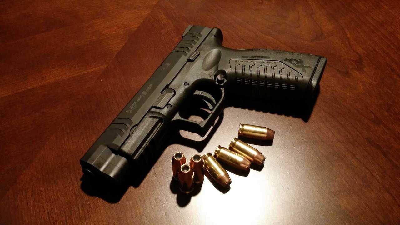 Motorcyclist Accidentally Shot Pistol Bullets