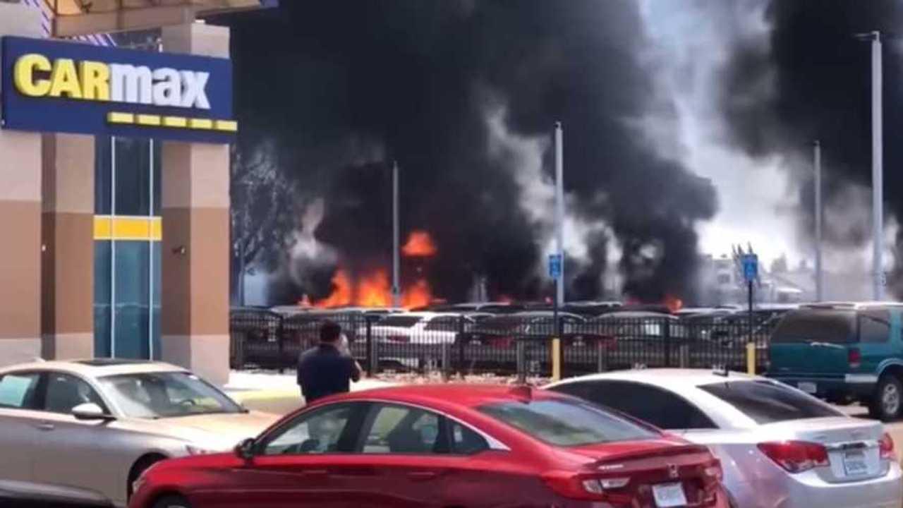 CarMax Fire