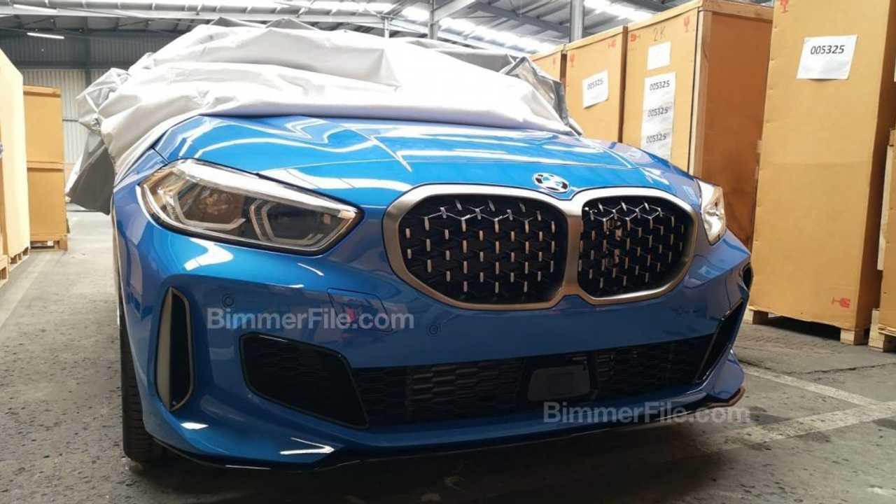 2020 BMW M135i xDrive spy photo