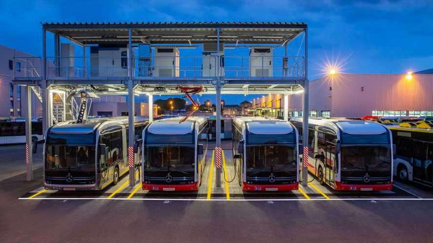 Mercedes-Benz eCitaro Plant Gets 1.2 MW Charging Station