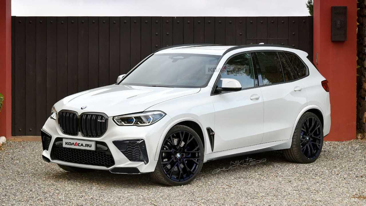 2020 BMW X5 M rendering