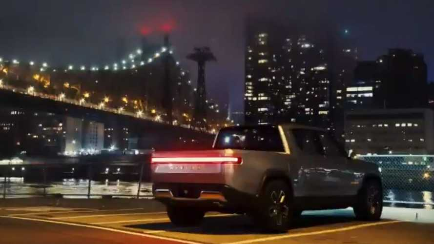 Rivian Releases Stunning New R1T Pickup Truck Timelapse Video