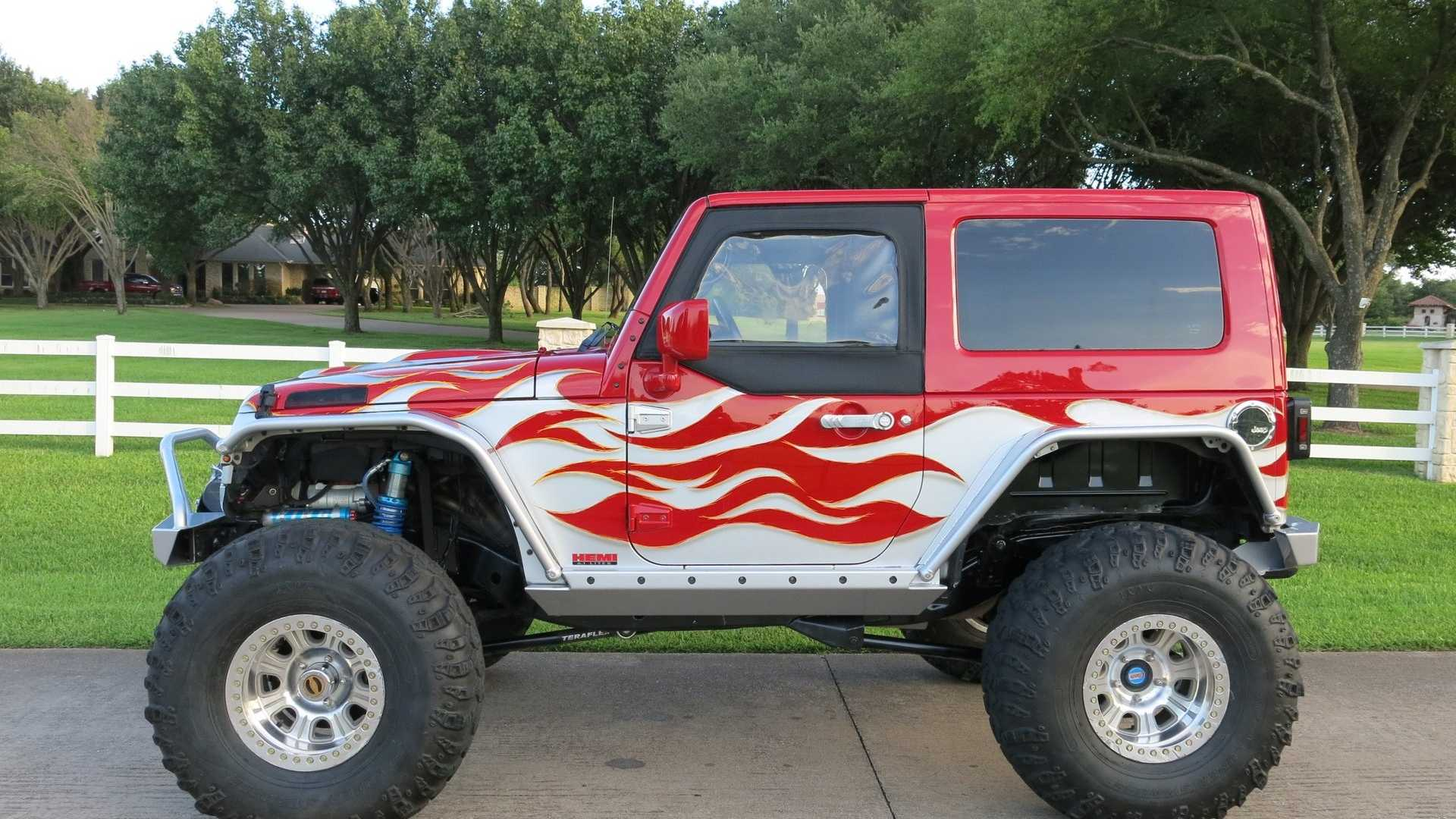"[""Hemi-Powered 2008 Jeep Wrangler JK Is Up For Any Challenge""]"
