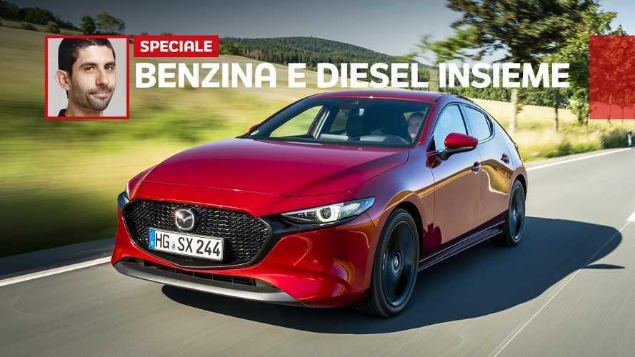 Un po' benzina, un po' diesel: come va lo SkyActiv-X sulla Mazda3
