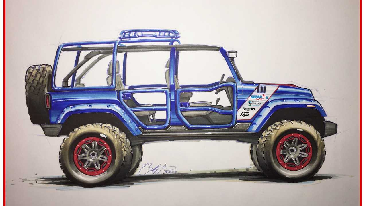 A Look Back At The 2016 SEMA Cares Jeep Wrangler Build