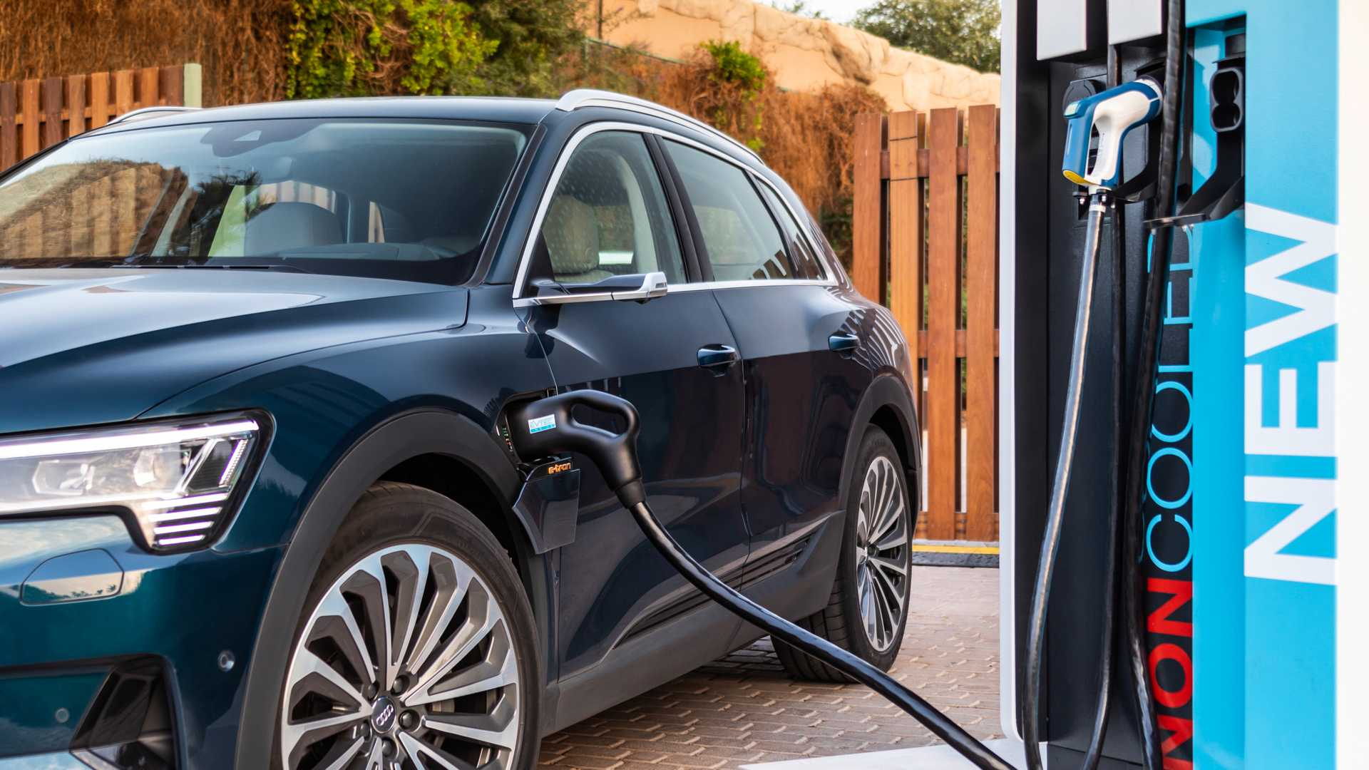 Audi: The e-tron Is Benchmark For DC Fast Charging