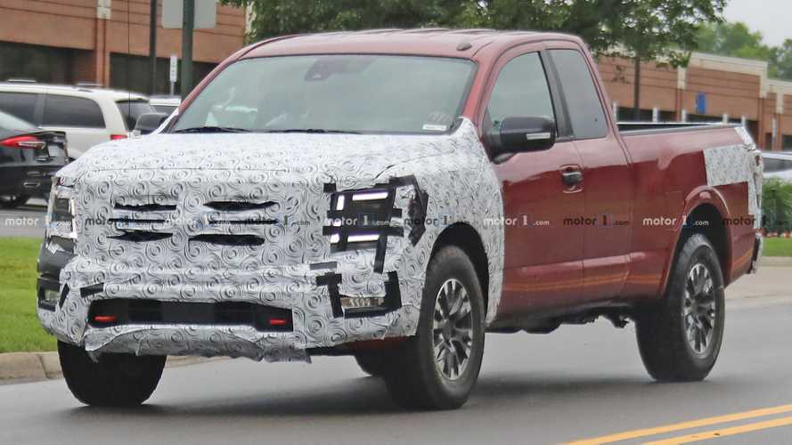 Nissan Titan Pro-4X Spied Under Development As Future Tough Truck