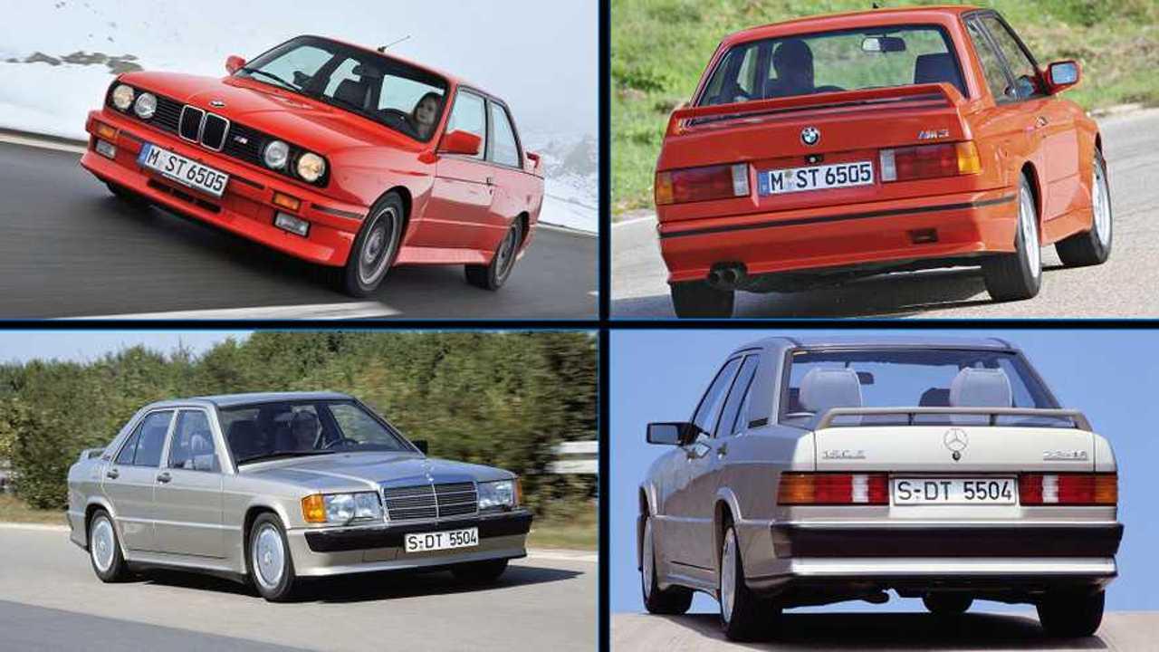 BMW M3 E30 vs. Mercedes-Benz 190E 2.3-16