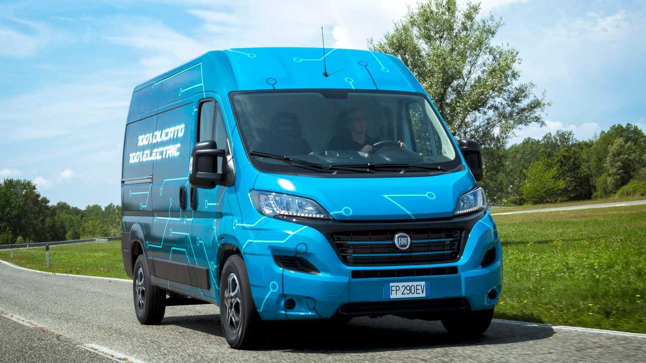 Fiat  Ducato Electric Prototype
