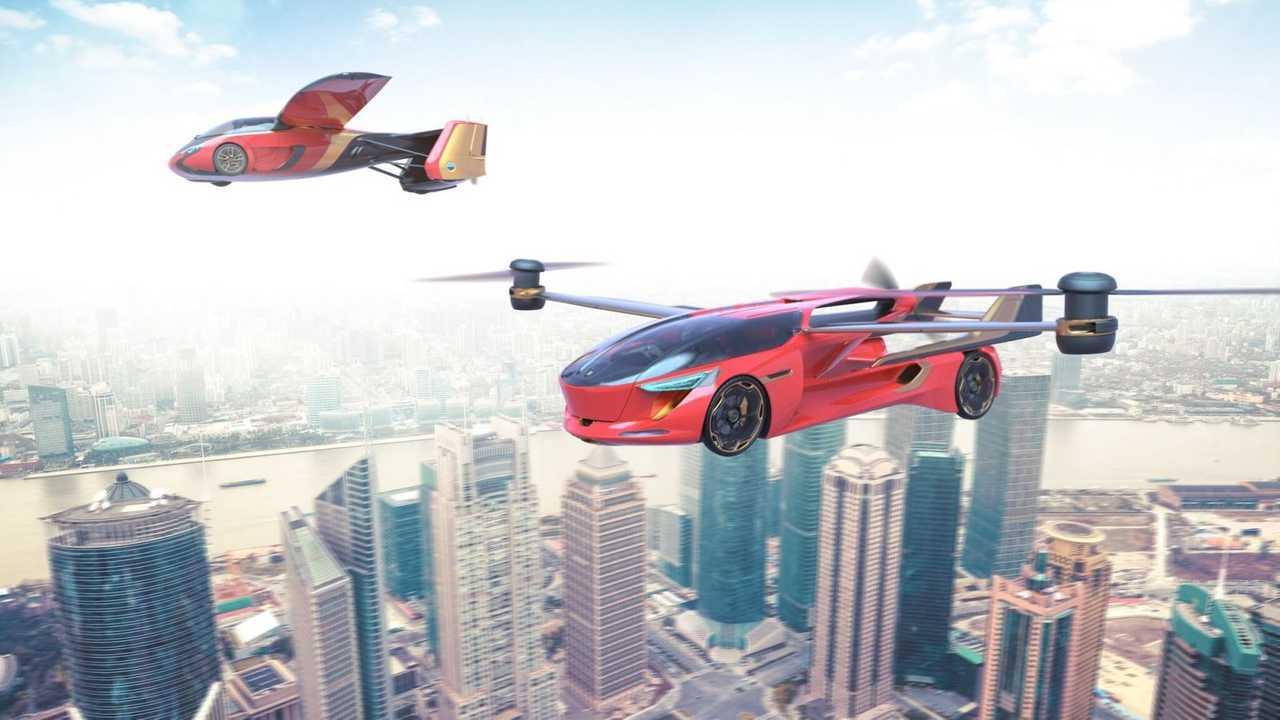 10 Flugautos, von Airbus bis Kalaschnikow