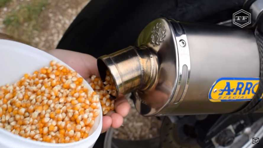 Your Motorcycle Is Also A Popcorn Popper