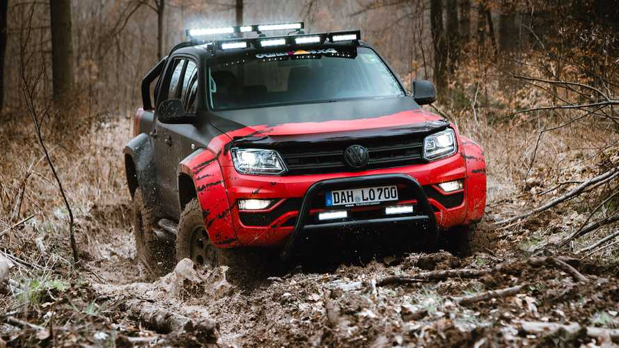 VW Amarok from German tuner makes truck off-road ready