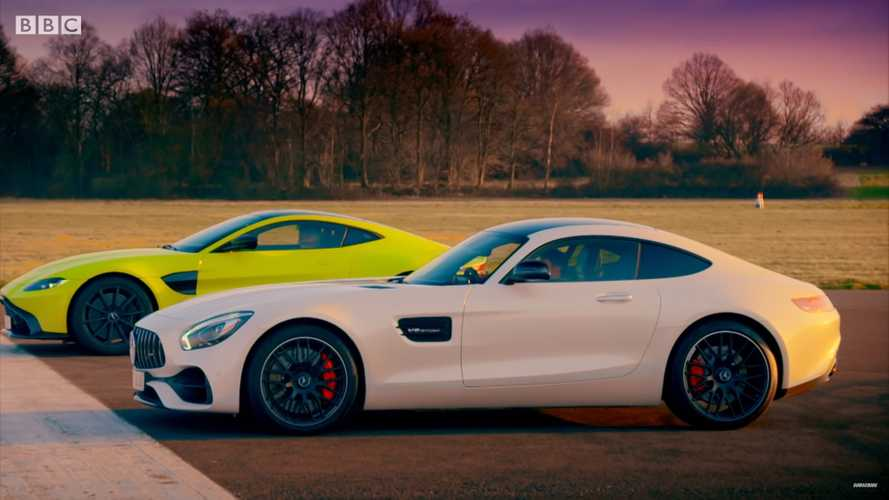 Aston Martin Vantage Faces Mercedes-AMG GT S In Top Gear Drag Race