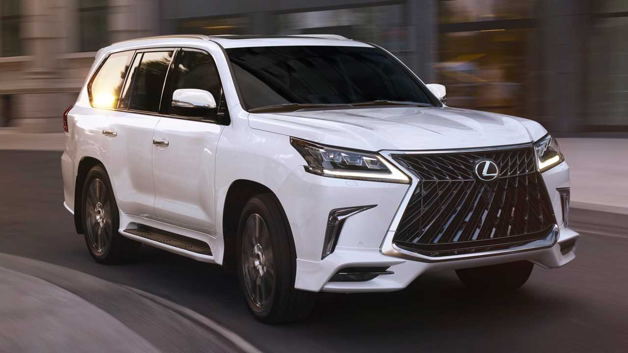 Lexus 3 Row Suv >> 2020 Lexus LX570 Looks Slightly Meaner With Sport Package