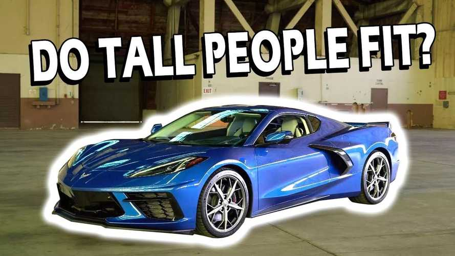 Watch Tall Guy Prove 2020 Chevy Corvette Is Big People Friendly