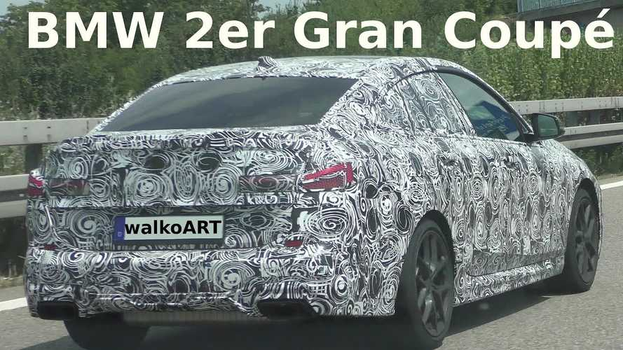 2020 BMW 2 Series Gran Coupe spied on the Autobahn