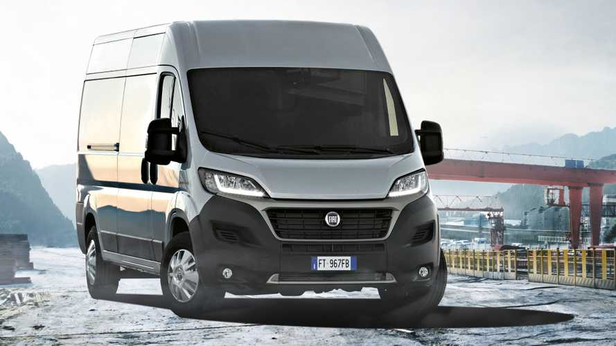 Facelifted Fiat Ducato van goes on sale costing £24,670+VAT