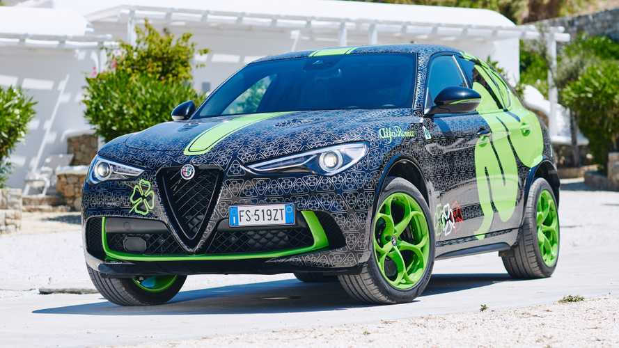 Custom Alfa Romeo Stelvio Quadrifoglio Debuts To Take On Gumball 3000