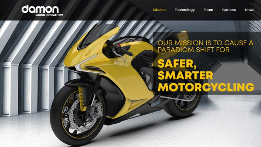 Damon Motorcycles Wants To Make Motorcycling Safer With Tech