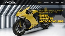 damon motorcycles safe motorcycle tech secures funding