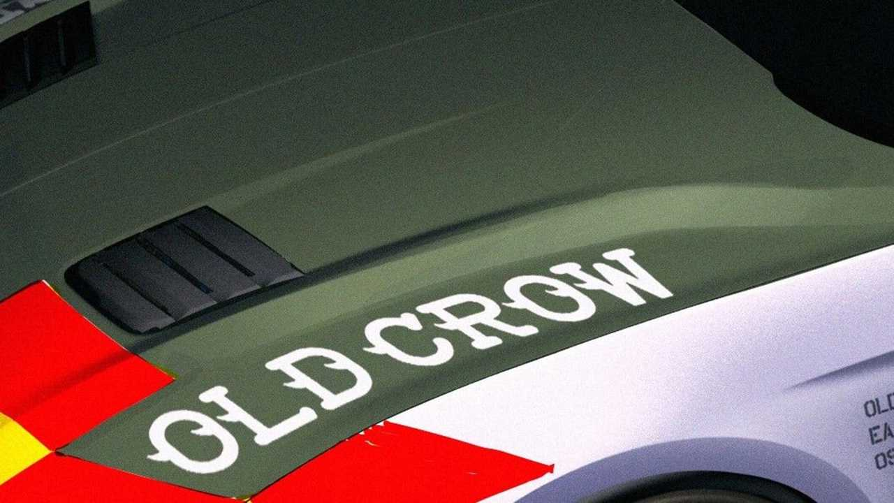 Ford Mustang GT Old Crow Airventure Charity Teaser