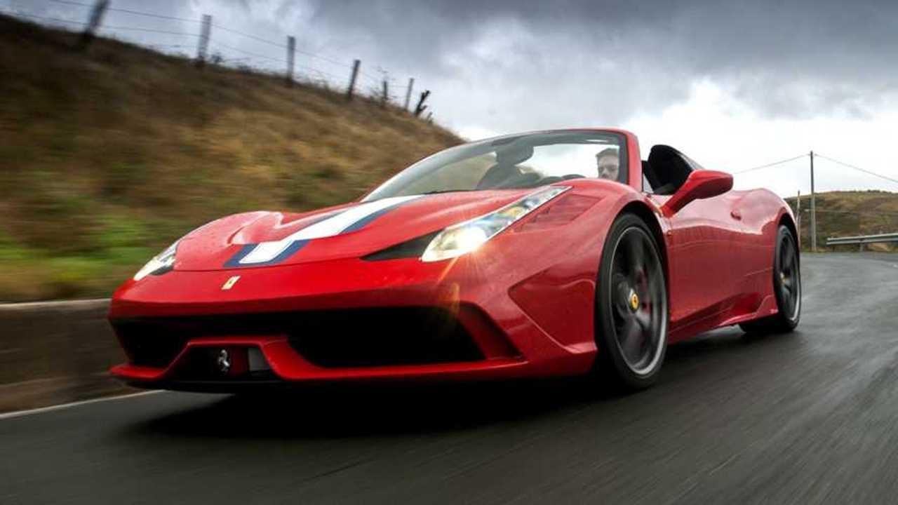 10 Ferrari appartenute a star dello spettacolo