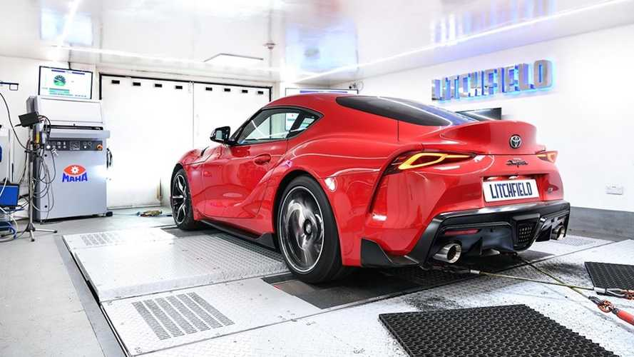 2020 Toyota Supra With Simple ECU Tune Pumps Out 420 HP