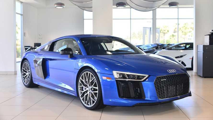 Add This 2017 Audi R8 V10 Plus To Your Collection For Under $150K
