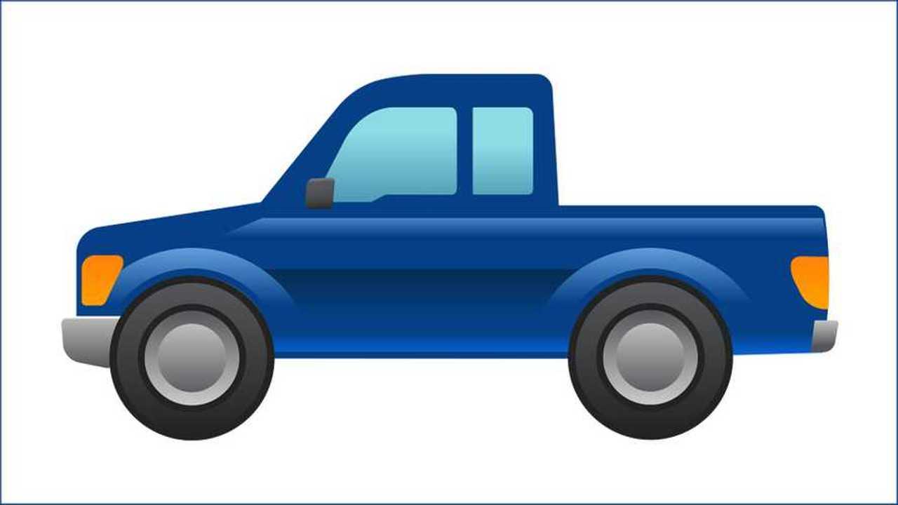 Ford emoji pick-up
