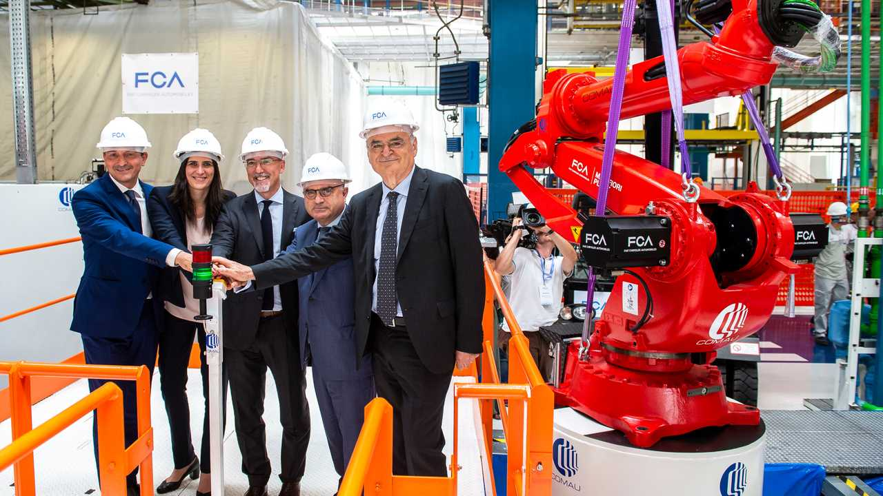 FCA's Mirafiori Plant Turns 80. Work Begins on New Assembly Line for the Fiat 500 Electric