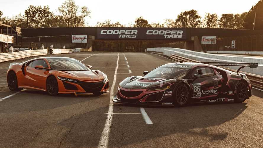 Watch how the Honda NSX stands up to its GT3 sibling